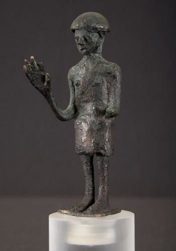 Bronzetto offerente Santu Antine - Genoni