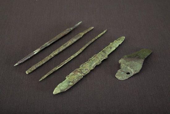 Reperti archeologici PARC Genoni