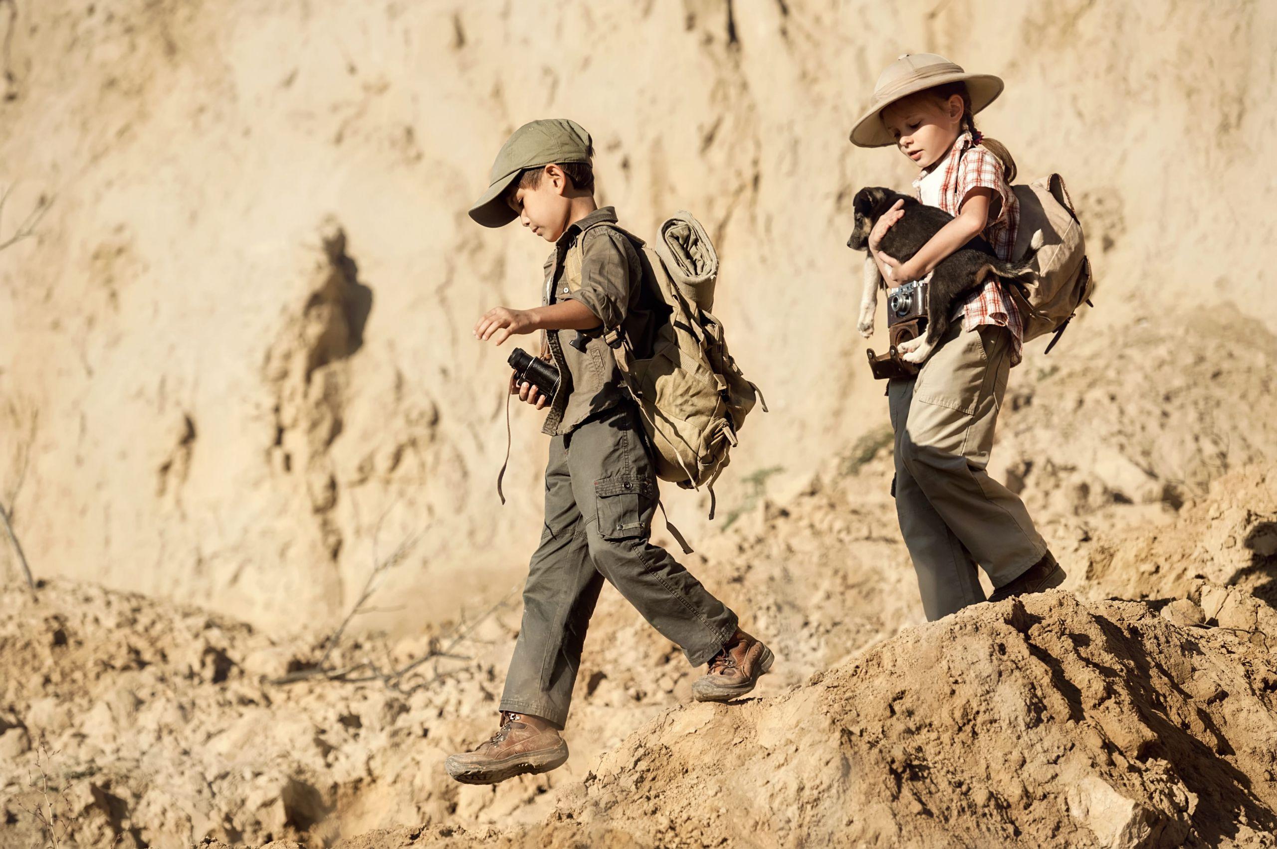 Piccoli paleontologi al Geosito