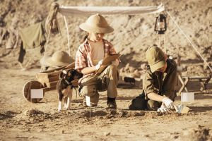 Scavo piccoli paleontologi