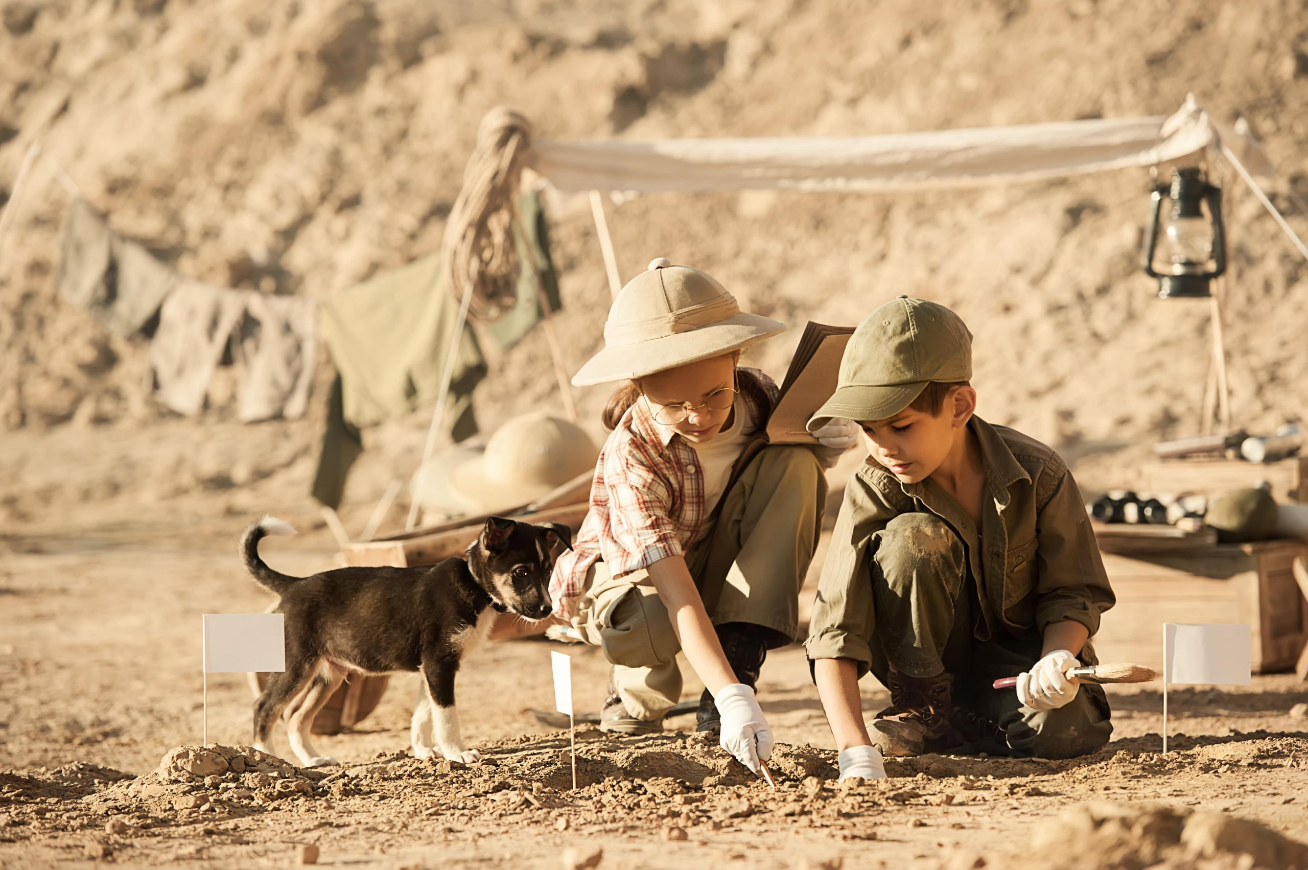 Piccoli Paleontologi campo estivo