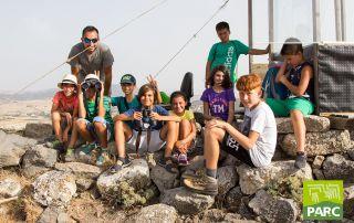 Foto di gruppo sul colle di Genoni