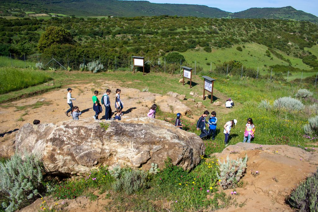 Geosite guided tour