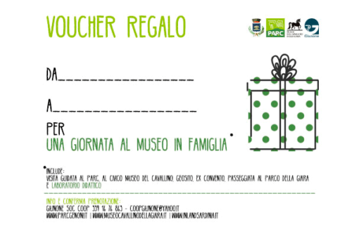 Voucher regalo museo