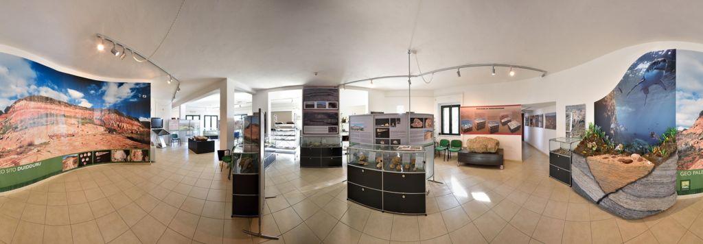 Sala paleontologica PARC Genoni