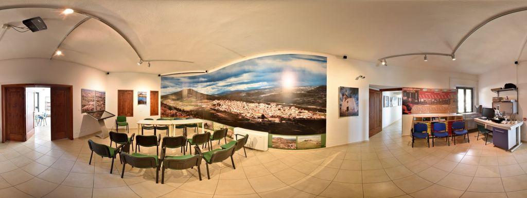 Sala scala dei tempi PARC Genoni