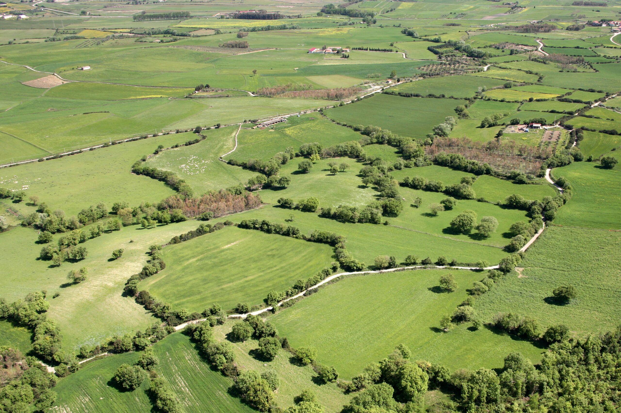 Centro Sardegna visto dall'alto