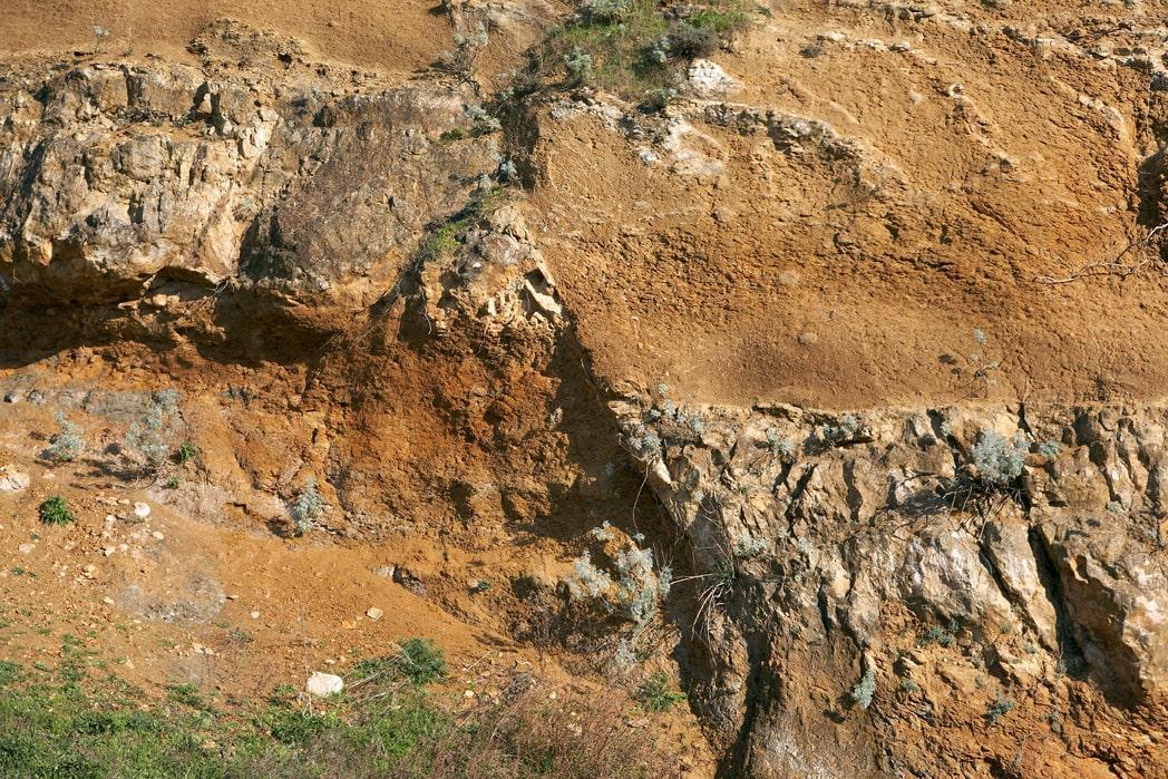 Faglia geosito di Duidduru