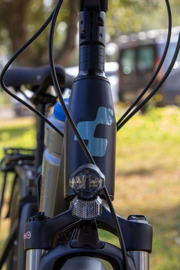 Dettagli bicicletta elettrica per il noleggio